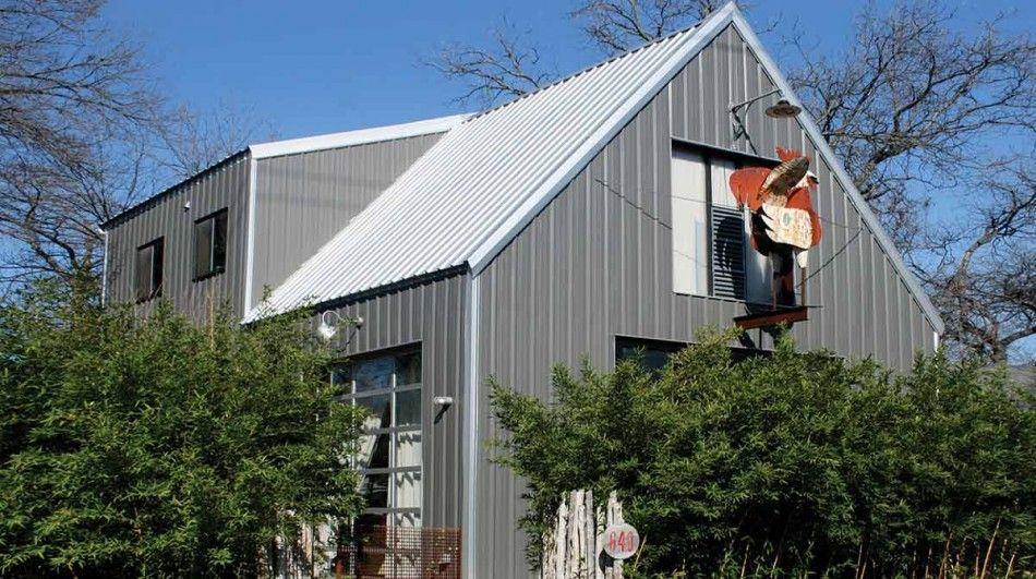 Ideas Minimalist Modern Design Metal House Kits With Small Windows