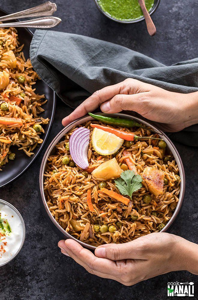 Easy Instant Pot Vegetable Biryani