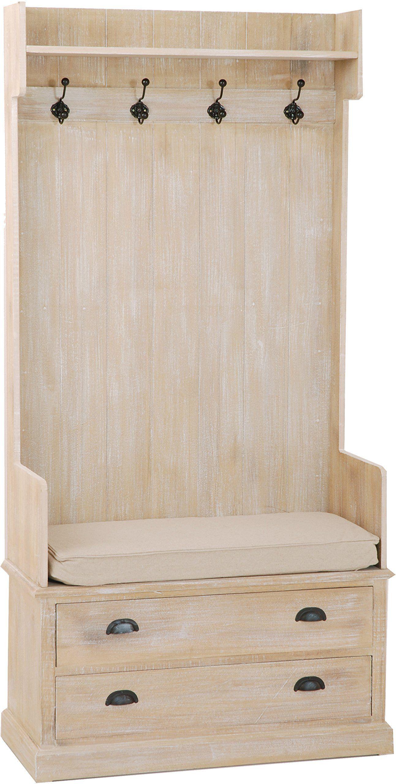 Meuble porte manteau 2 tiroirs  Amazon.fr  Cuisine   Maison   entrée ... 77626083b4ae