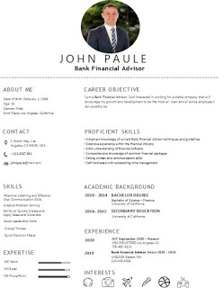Best Bank Financial Advisor Resume Examples And Template Skills Accountant Resume Resume Examples Resume