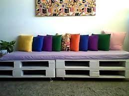 Resultat d'imatges de sofa con palets largos