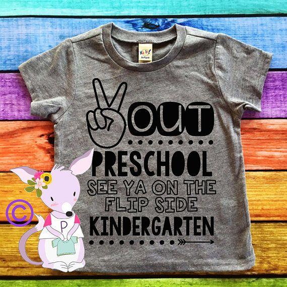 Peace Out Kindergarten Last Day of School Shirt Kindergarten Shirt Kids Shirts
