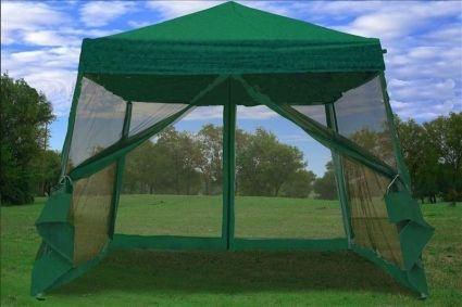 pop-up canapy | ... pop up green canopy tent with net this & pop-up canapy | ... pop up green canopy tent with net this new 8 x ...