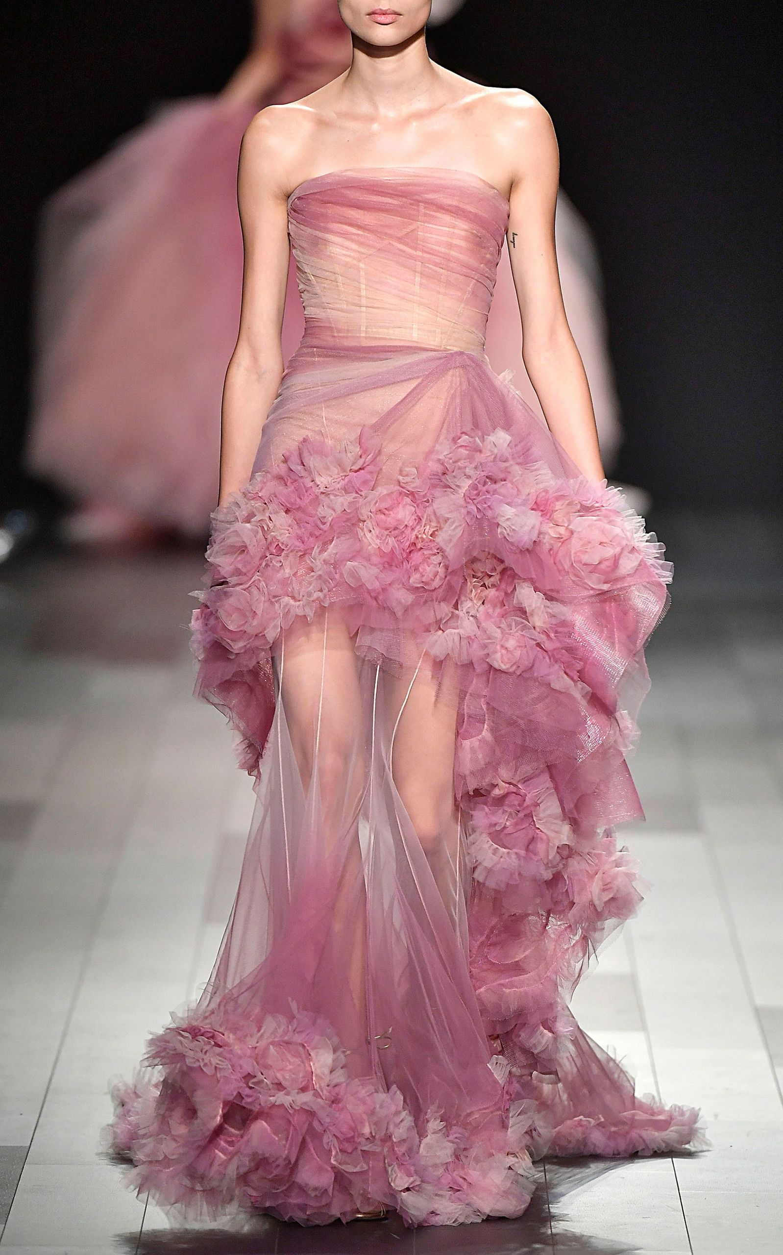 Truly Tulle Runway Gowns Fashion