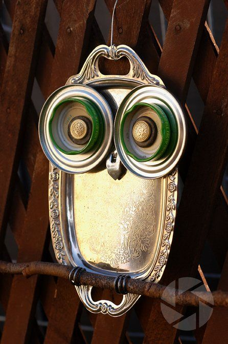 23 owl crafts outdoor