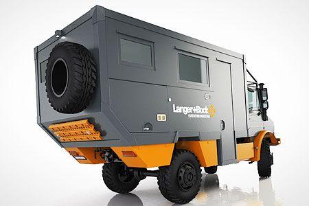 langer bock unimog overland camper overlanding expedition vehicles pinterest. Black Bedroom Furniture Sets. Home Design Ideas