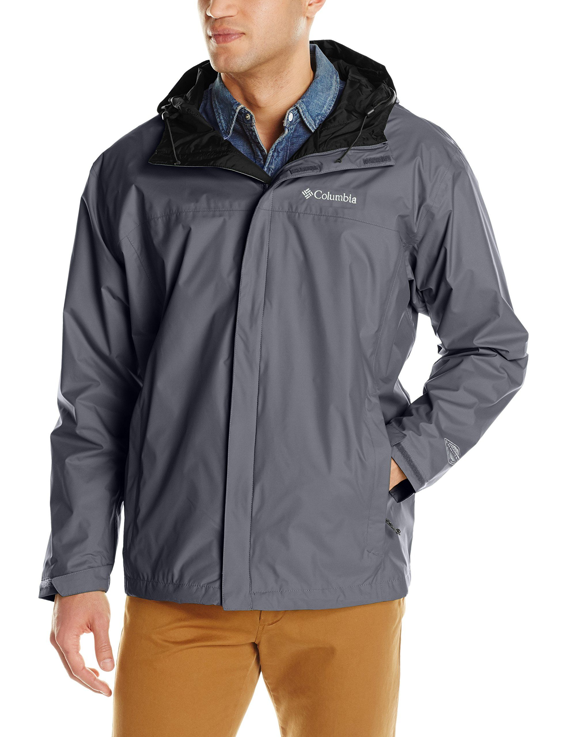 Cover: Columbia Men's Big Watertight II Packable Rain Jacket ...