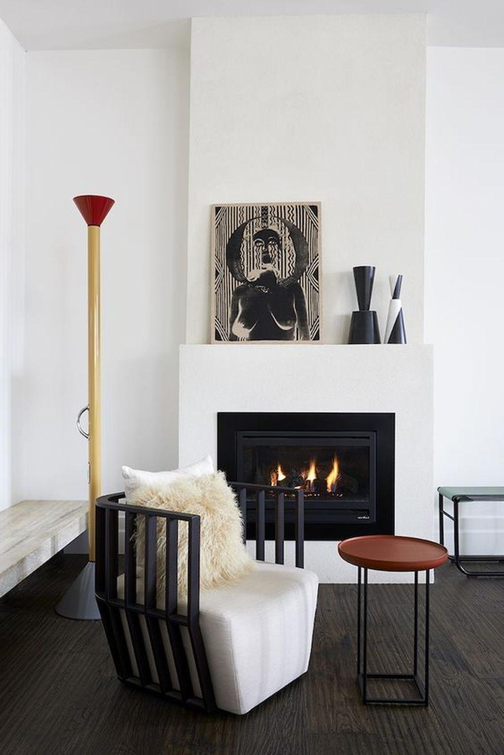 living room scandinavian fireplace  41 fantastic