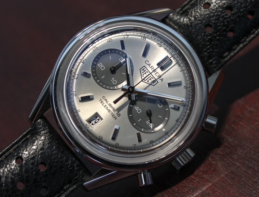 TAG Heuer Carrera Calibre 18 Chronograph Watch Hands-On