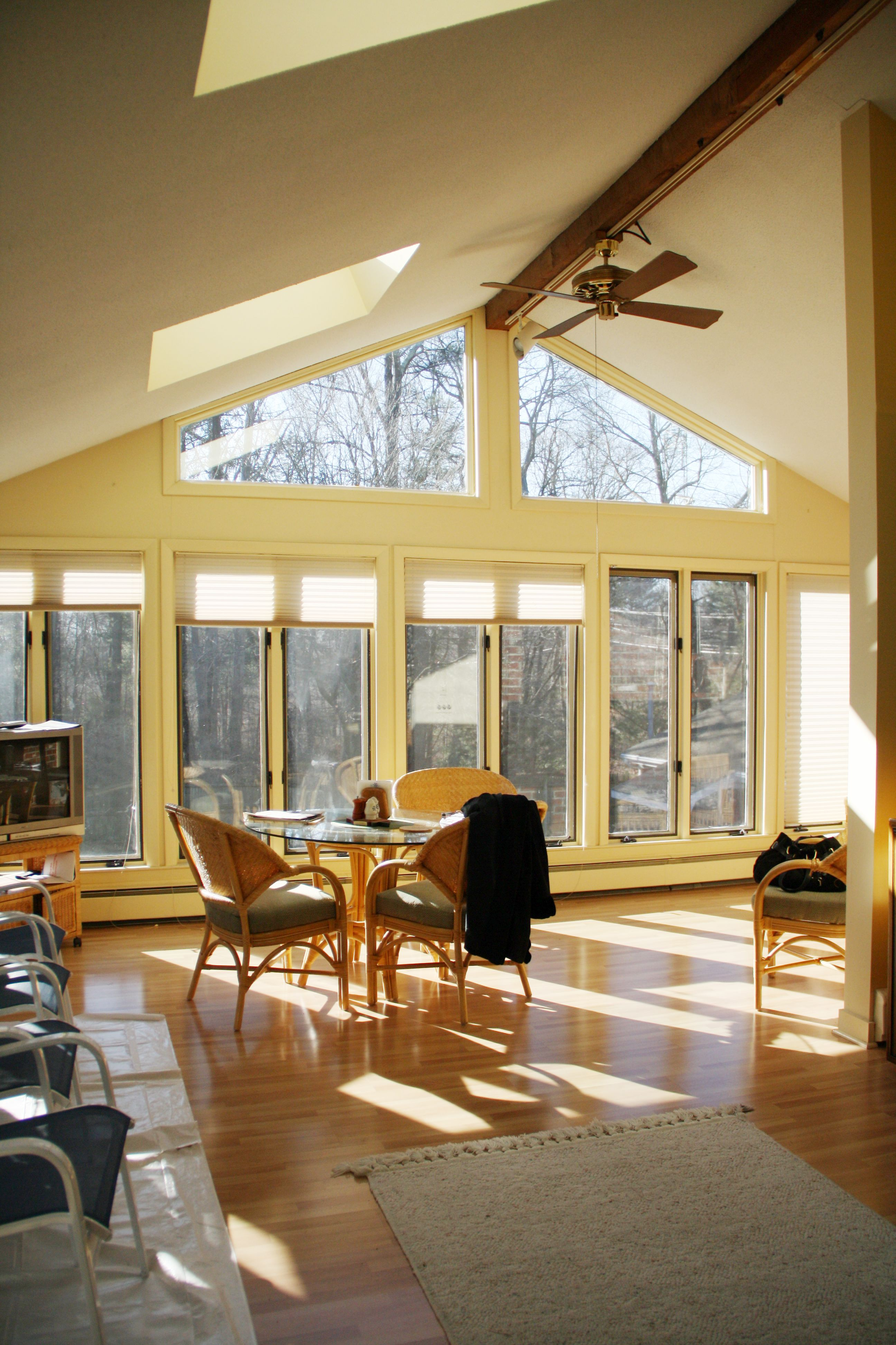 Vaulted Ceiling Living Room Ideas   Google Search
