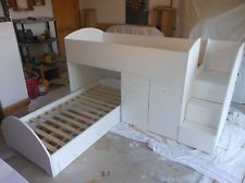 HALF PRICE Handmade Boys Girls Cabin Bed L Shaped Space Saving Bunk Bed