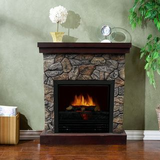 Telluride 1250 Watt Polystone Electric Fireplace Electric Fireplace Electric Fireplace With Mantel Indoor Fireplace