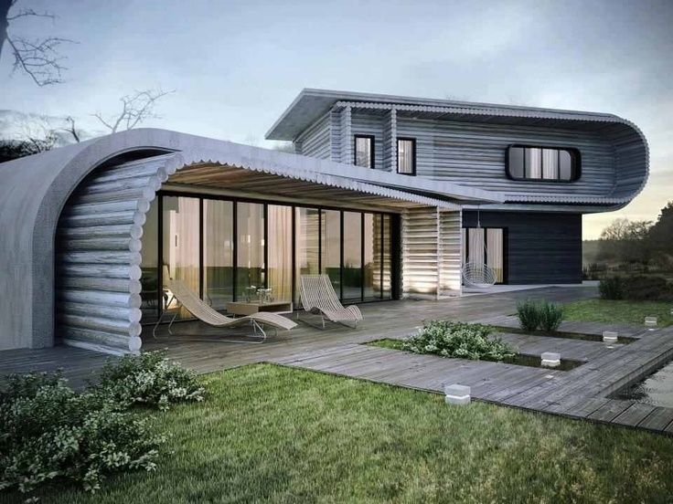 Modern Container Homes:tasty Modern Small Container House Design Ideas Pic
