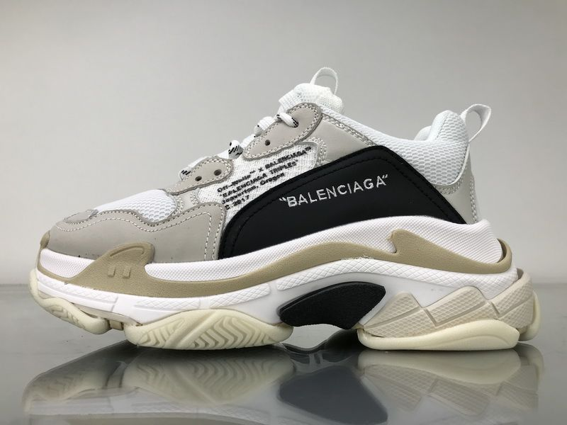 best cheap 05be2 c1dd3 Off White x Balenciaga Triple S 490675W06F19005 Shoes 1 Fans of the  chunky-soled Balenciaga Triple S will be happy to hear that new colorways  of the model ...