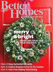 FREE Subscription to Better Homes and Gardens Magazine!! http://www.thecafecoupon.com/2013/12/free-subscription-to-better-homes-and.html