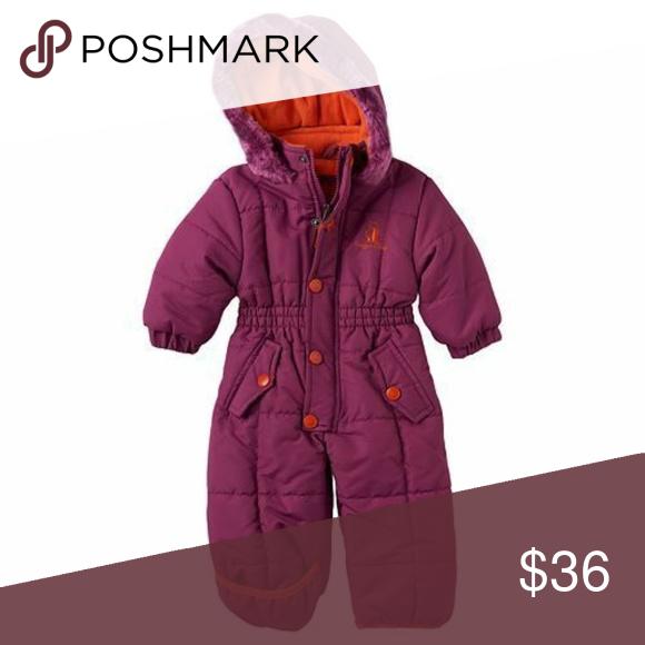 Rugged Bear Infant Pram Snowsuit Coverall