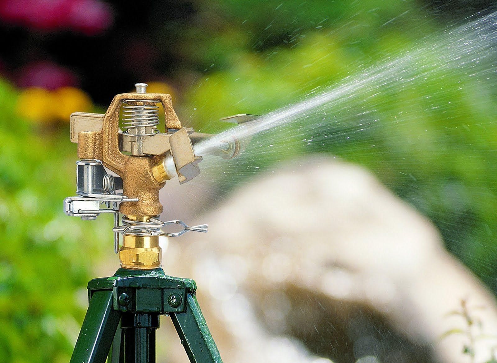 Impact Head Irrigation system diy, Irrigation system
