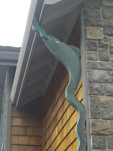 Decorative Rain Gutters In Vancouver Washington Spaces