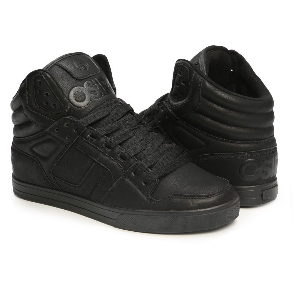 Osiris shoes clone black metal trainers   Osiris shoes