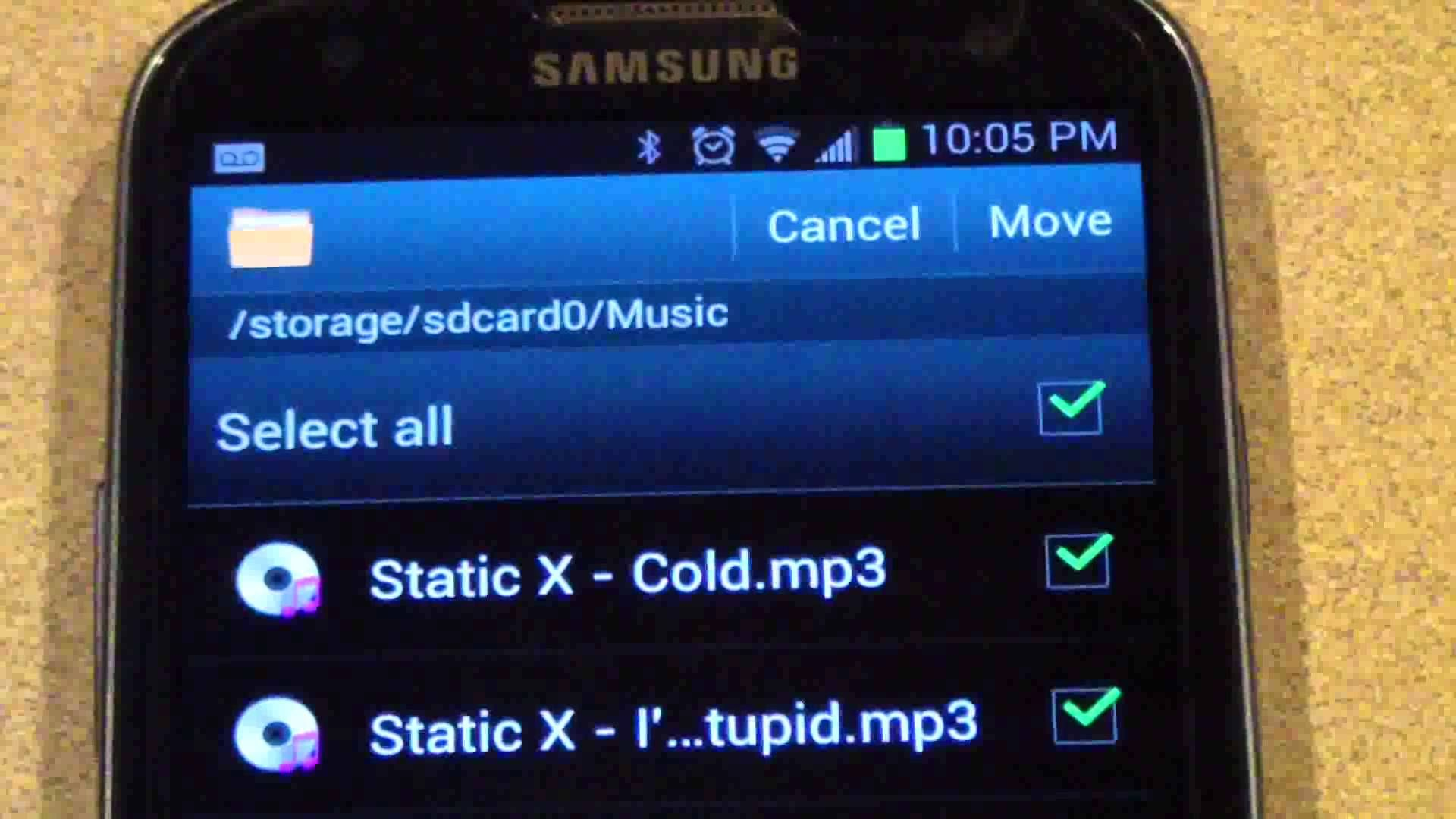 Galaxy Transfer Apps From Internal Storage to Micro SD Card Without Installing an App Memory Cards 4 You
