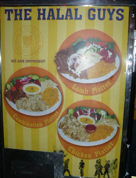 My Favorite Meal In Nyc The Halal Cart At 53rd And 6th It S Best After 7pm Bc Thats When The Real Halal Guys Are There Halal Favorite Recipes Food