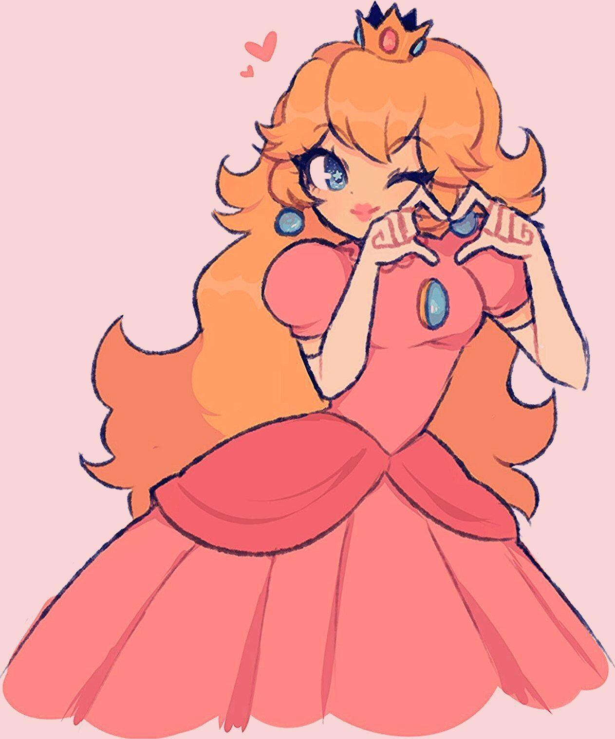 Gallery:Princess Peach - Super Mario Wiki, the Mario encyclopedia | Mario art, Peach