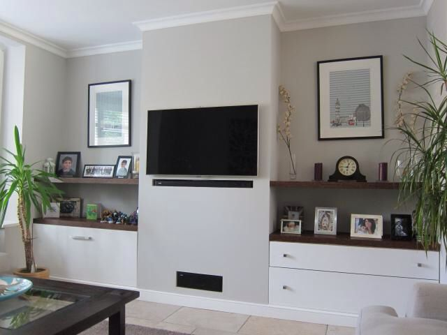 Bespoke shelving (With images)   Alcove ideas living room ...