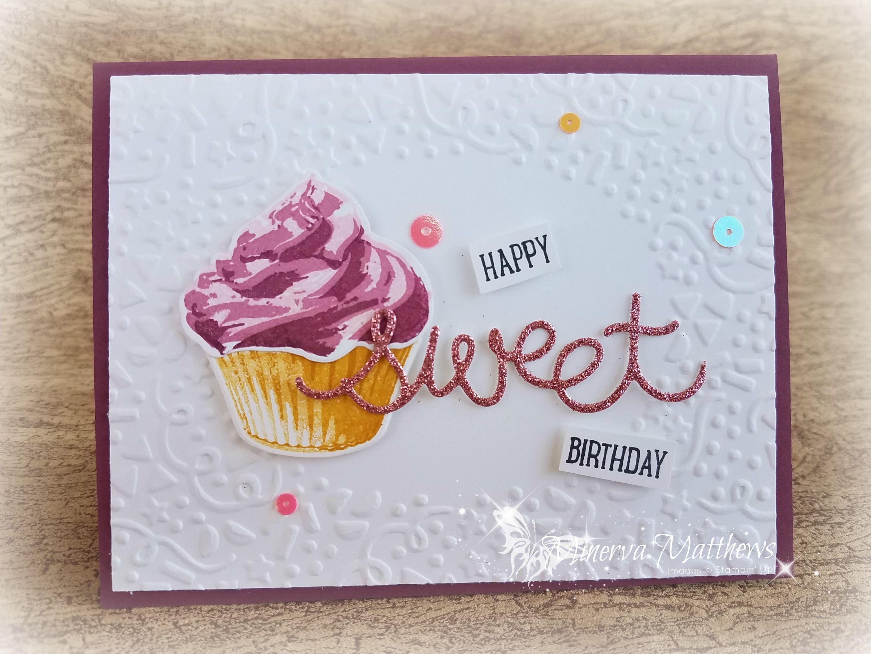 Birthday Cards Using Sweet Cupcake Stamp Set Cupcake Cutouts