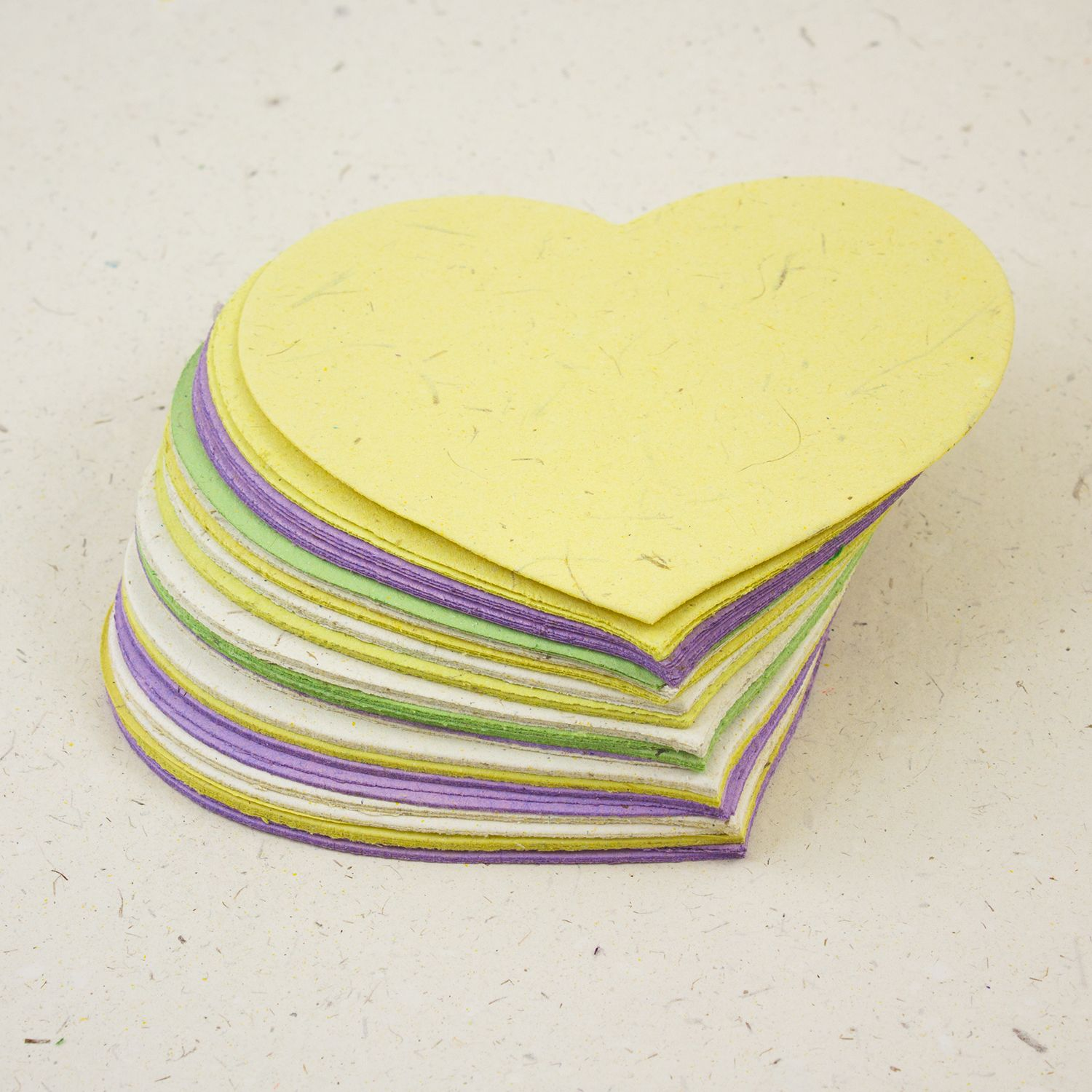 Heart-Shaped Note Box Refills
