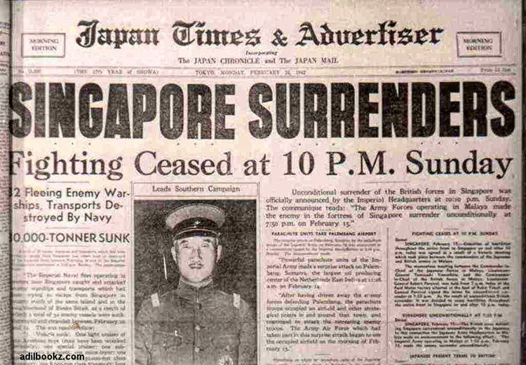 February 15 1942 The Fall Of Singapore Was One Of The Worst