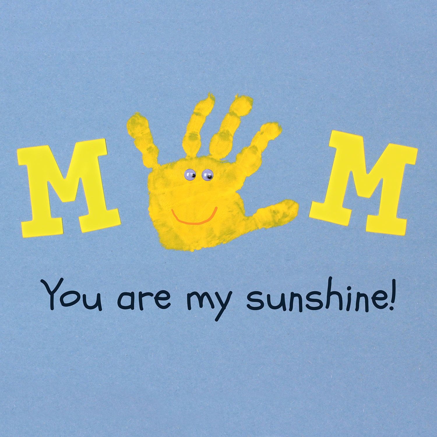 Mom You Are My Sunshine Such A Sweet Mother S Day Craft