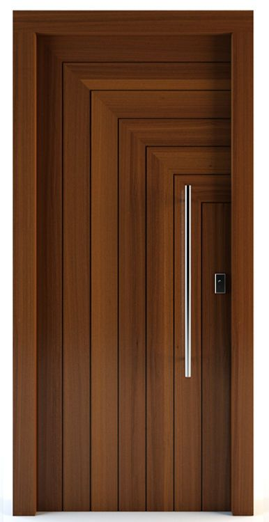 Porte d 39 entr e battante en bois massif gortyna for New house door design
