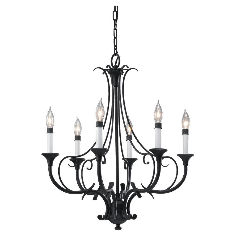 Traditional in black six light black up chandelier newton traditional in black six light black up chandelier newton electrical supply arubaitofo Image collections
