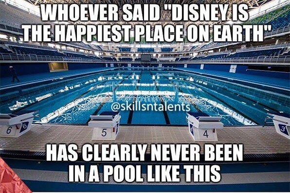 Untitled El Que Dijo Disney Es El Lugar Mas Feliz Del Mundo Nunca Ha Estado En Una Piscina
