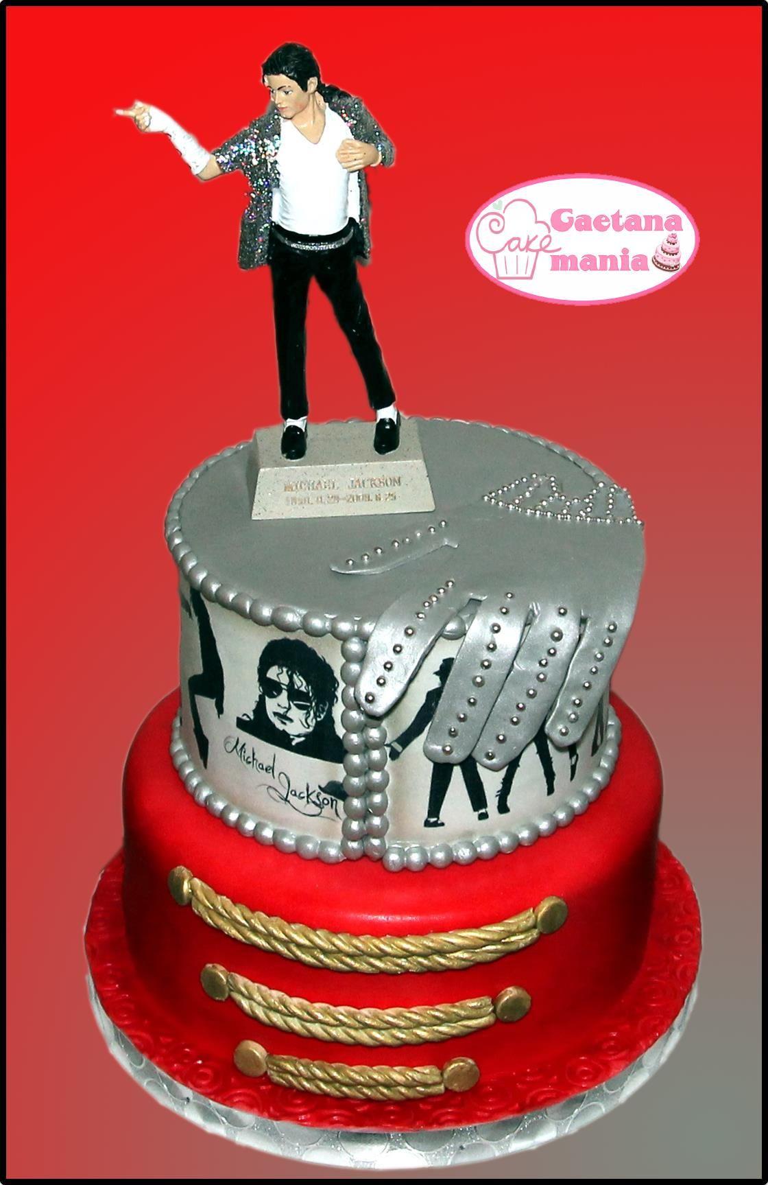 My Michael Jackson Cake cosa para mi comple aos Pinterest