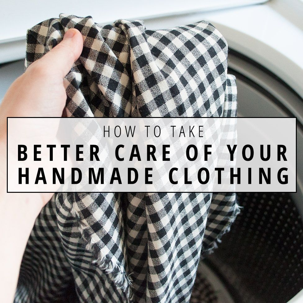 Extend the life of your home-sewn clothing with these four steps for better garment care. | Indiesew.com