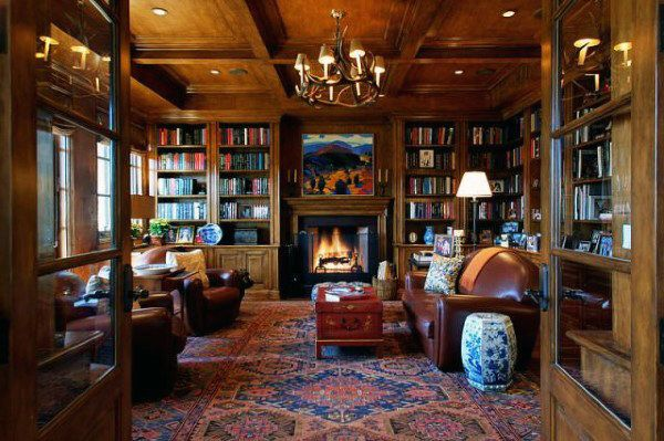 90 Home Library Ideas For Men Private Reading Room Designs Home Library Design Home Libraries Home Library