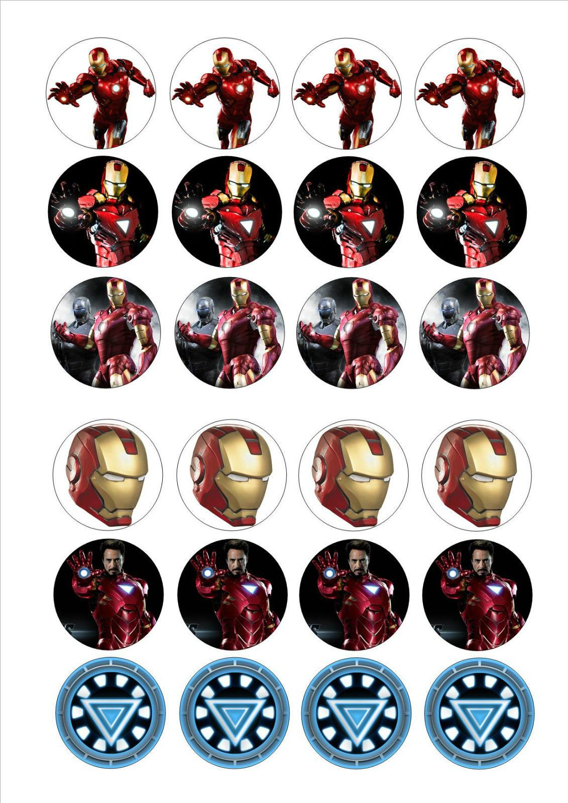 instant download 2 2 u0026quot printable iron man stickers