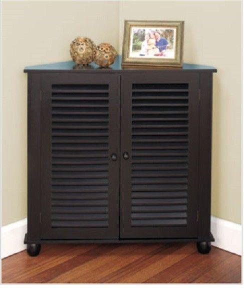 Unique Bin Storage Cabinet with Shelves