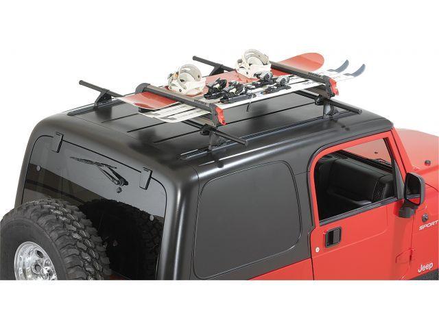 Yakima Big Powderhound Ski Snowboard Rack Jeep Parts And Accessories Quadratec Snowboard Racks