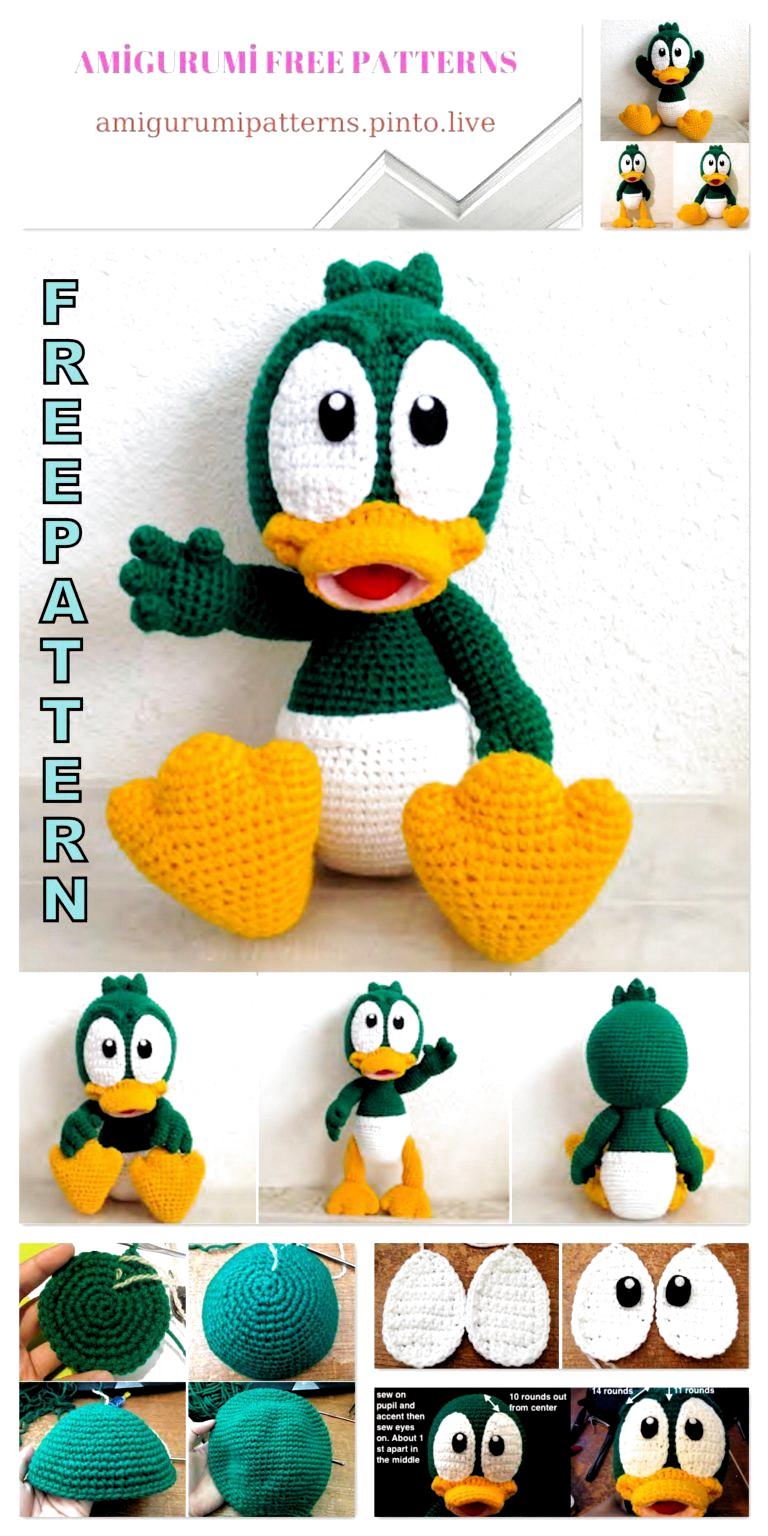 Tiny dragon amigurumi pattern | Crochet toys patterns, Amigurumi ... | 1536x768