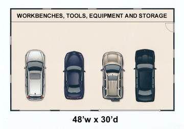 4 Car Garage Plans Garage Plans Car Garage Garage Plan