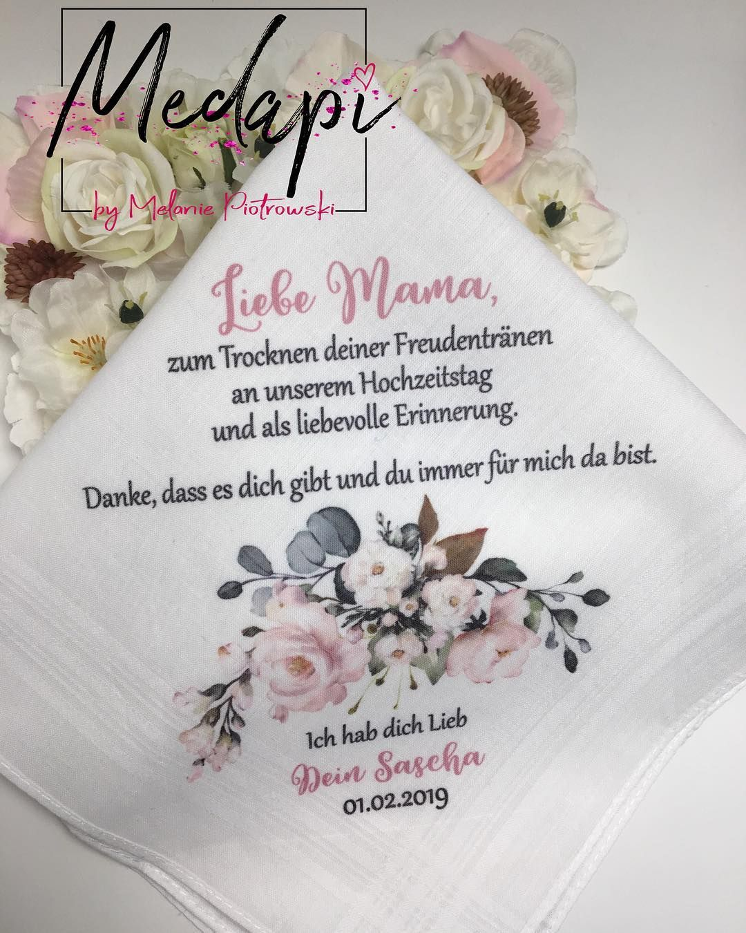 2 Taschentucher Aus Einem Set Zeige Ich Euch Wunschfarbe Rosa Taschentuch Taschentuchbedruckt Individuell Bedruckt Nachwunsch Instagram Posts Instagram
