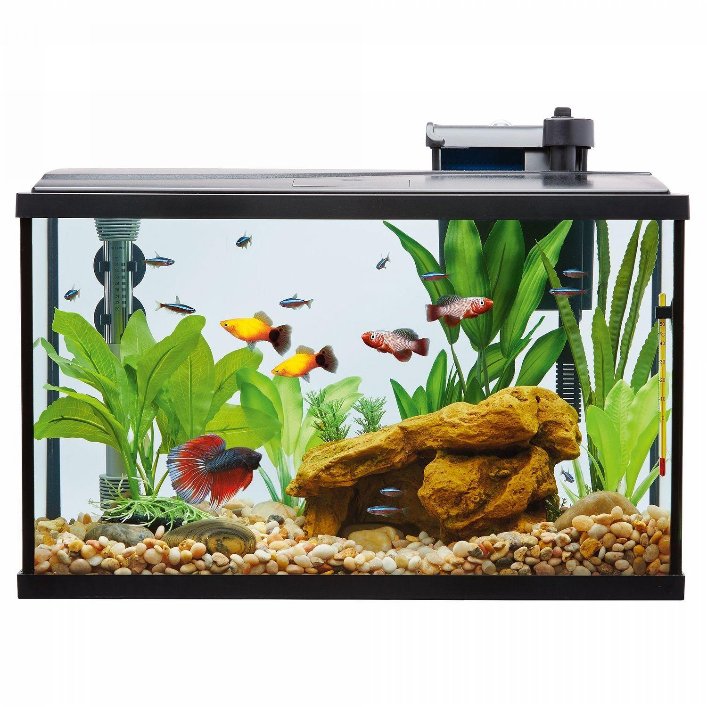 Top Fin Led Aquarium Starter Kit Size 10 Gal Aquarium Pet Spray Led Aquarium Lighting