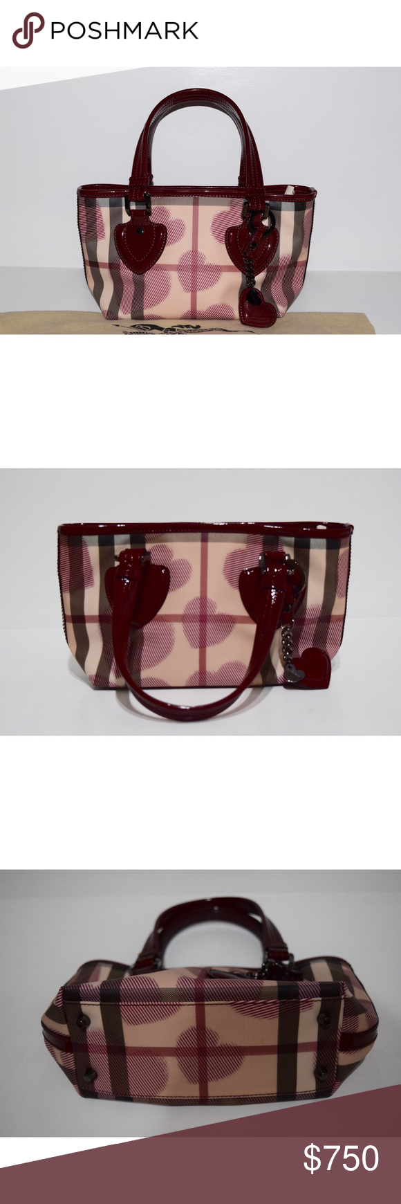 26c9825ad754 Authentic Burberry Prorsum Small Heart Print Bag Authentic Burberry Prorsum  Small Bag - Excellent Condition - Never used