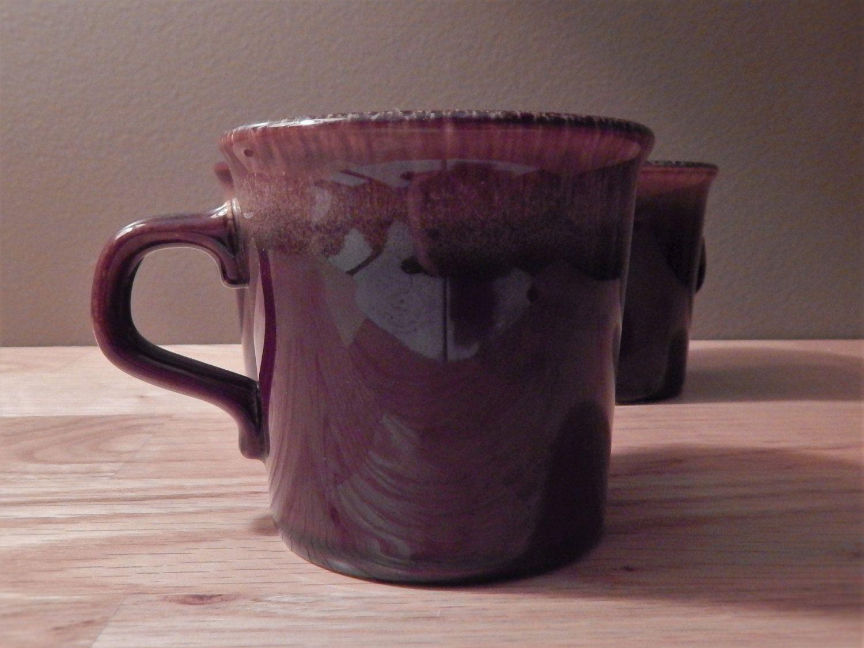 Taylor International Brown Glazed Coffee Mug Set of Three