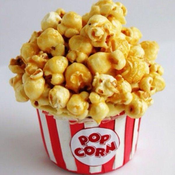 Caramel Popcorn Cupcakes Food Network