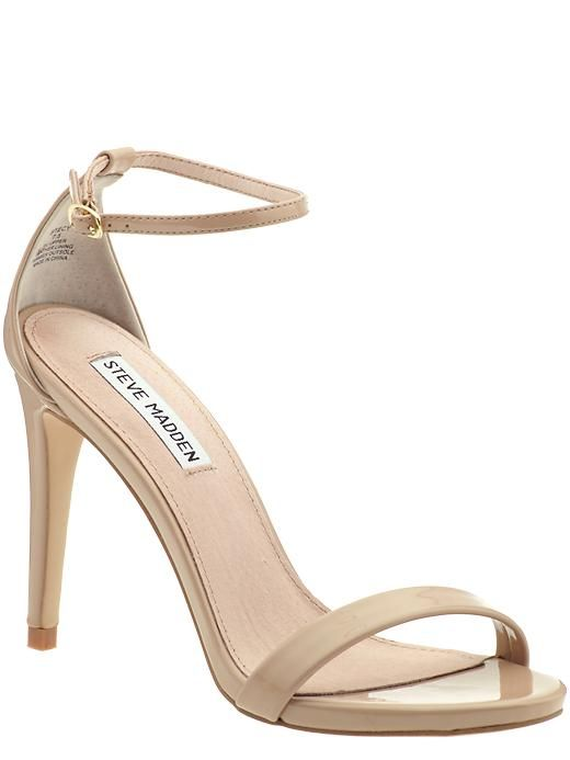 5ce4b3383ee Beautiful 'barely there' nude heels that go with everything! | Shoes ...