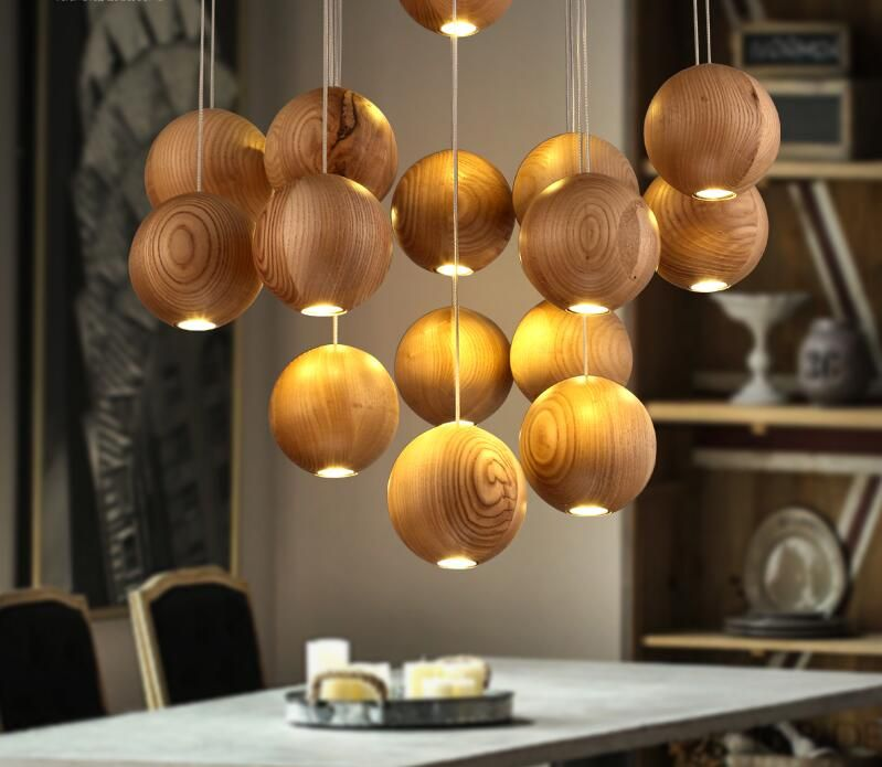 Creative Willow Wood Pendant lights