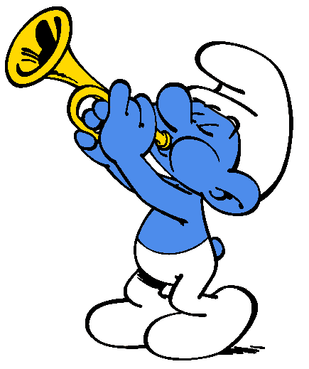 Smurf Clip Art of Characters – Clipart Download